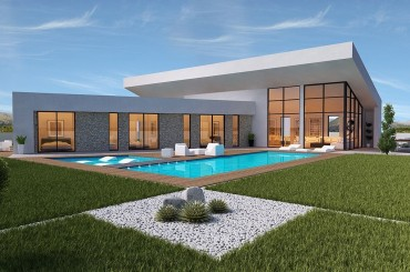 Contemporary bespoke villa design Souther Spain