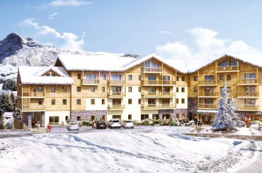 New apartments in the French Alps