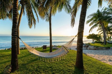Casa Tau Punta Mita is enviably located steps from the shores of the pristine Pacific Ocean